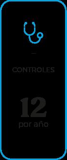 Controles, 12 por año